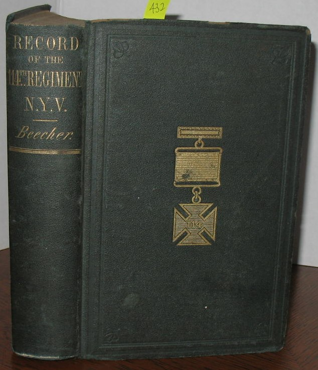 Record of the 114th Regiment, N.Y.S.V. Dr. Harris Beecher.