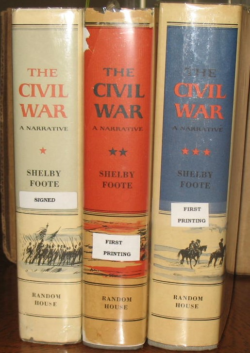 The Civil War: A Narrative. Shelby Foote.
