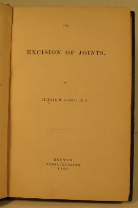 The Excision of Joints