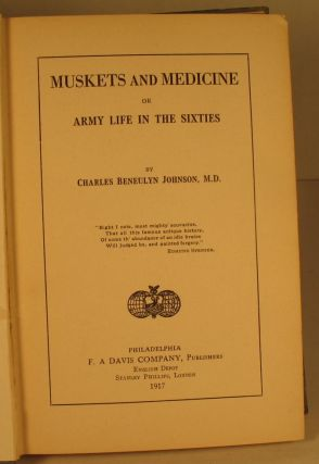Muskets and Medicine, or Army Life in the Sixties
