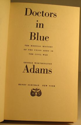 Doctors in Blue. MEDICAL, George W. Adams