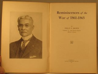 Reminiscences of the War, 1861-1865