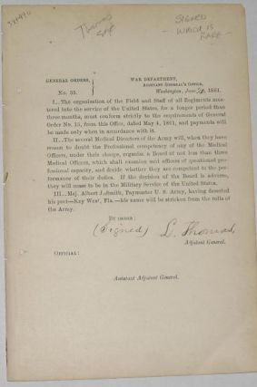 General Orders No. 35. General L. Thomas