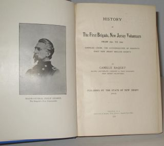 History of the First Brigade, New Jersey Volunteers From 1861-1865.