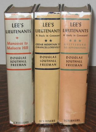 Lee's Lieutenants. Douglas Southall Freeman