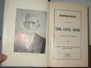 Reminiscences of the Civil War:. Judge Jonathan W. Stevens